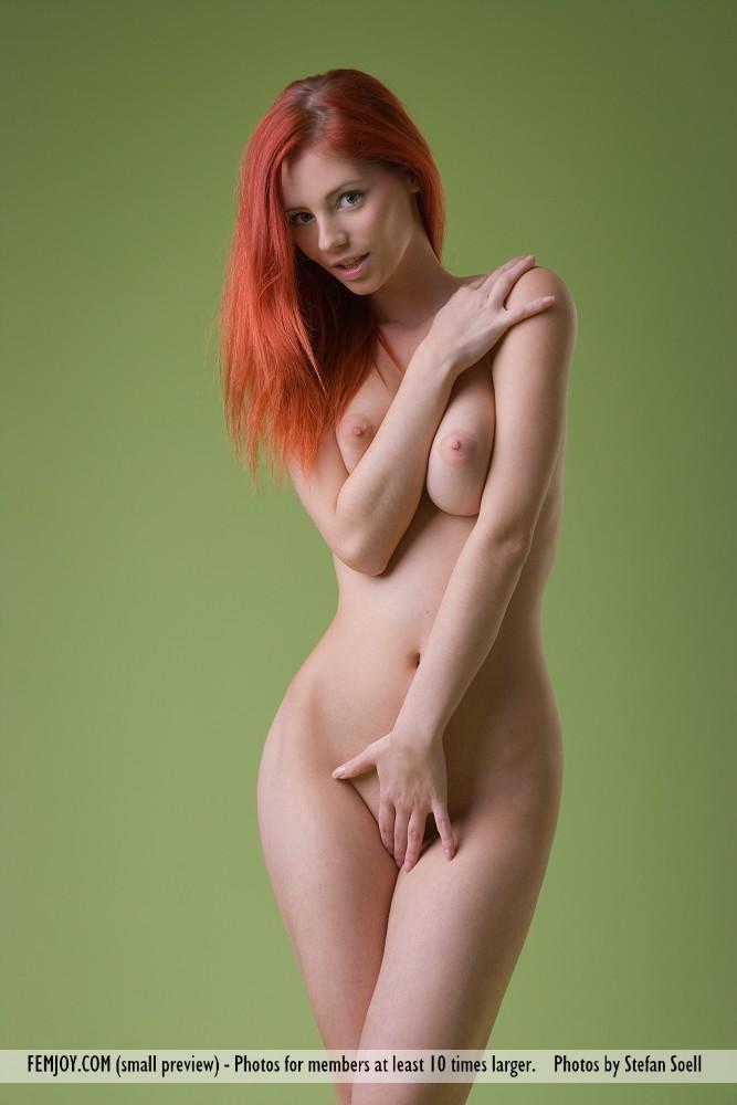 Фото голых молодых рыжих девушек